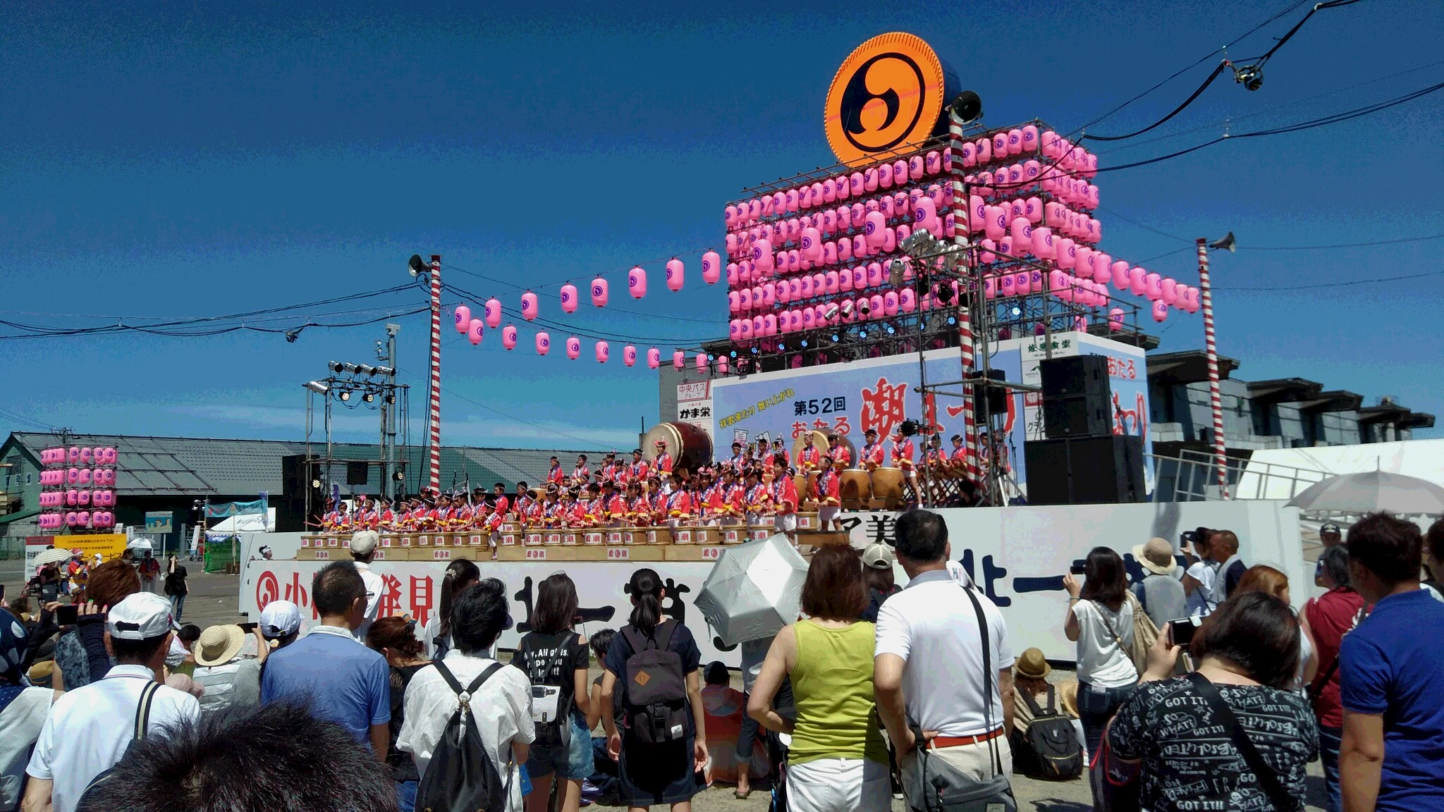 お祭りの多い小樽の街で最大のイベント・小樽潮まつり